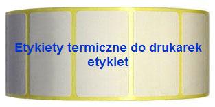 etykiety termiczne do drukarek etykiet