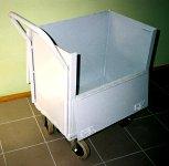 Wózek kurierski do transportu przedmiotów wartościowych