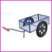 Wózek gospodarczy na dużych kołach od motoroweru, koła pneumatyczne, średnica kół 600mm, wymiary powierzchni załadowczej 1150 x650mm, wysokość boku 300mm