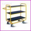 Wózek platformowy półkowy WRN2-030/41.4, wymiary 1200x550x1100mm, maksymalne obciążenie 300kg, kółka pełne gumowe o średnicy fi 125mm