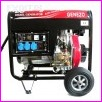 Agregat prądotwórczy w obudowie otwartej, DIESEL 7,5 KVA 1-fazowy 230V, model DG6000SE1 ATS jednofazowy, AUTOMATYCZNY ROZRUCH